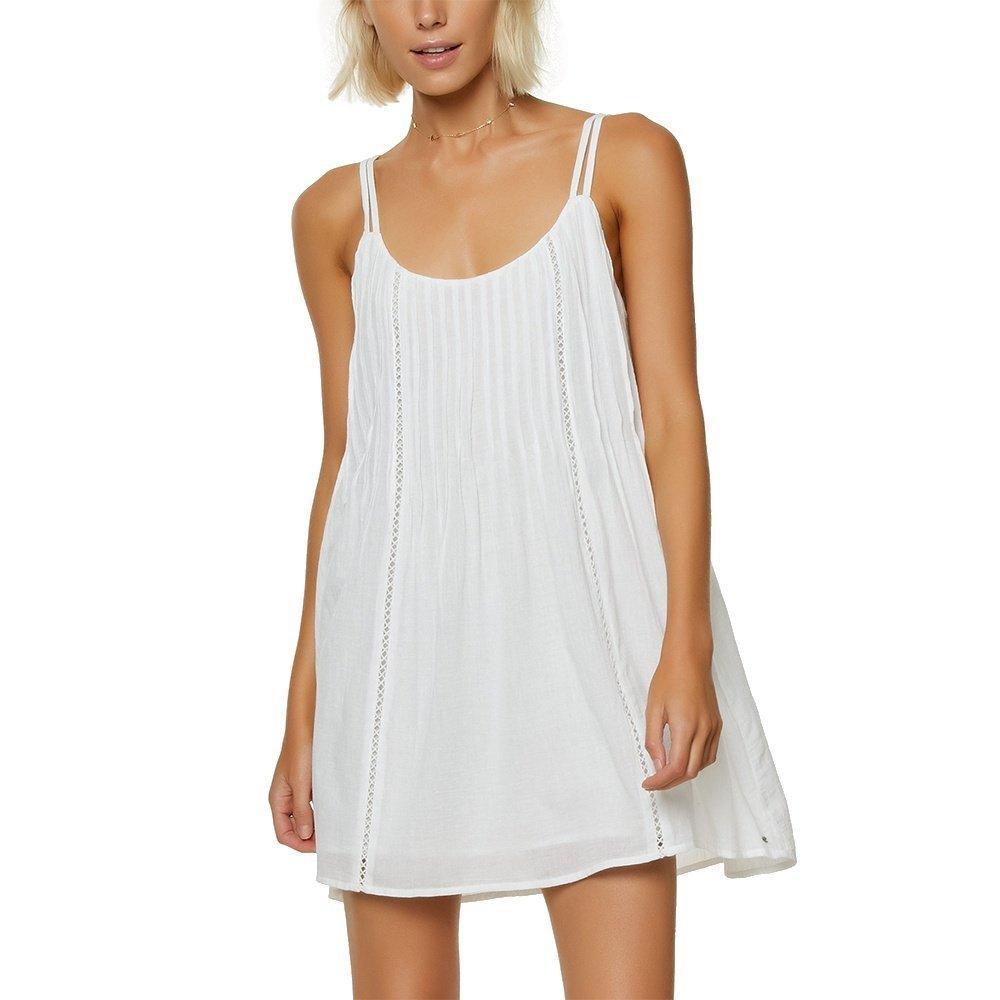 O'Neill Women's Kaylyn Tank Dress, White/White, M