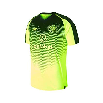 6e3bfa73808 Image Unavailable. Image not available for. Color: New Balance 2018-2019  Celtic Third Football Soccer T-Shirt Jersey