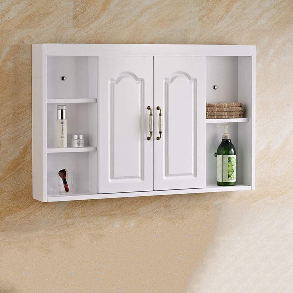 Armario doméstico Mueble de Espejo de baño con Puerta Mueble de ...