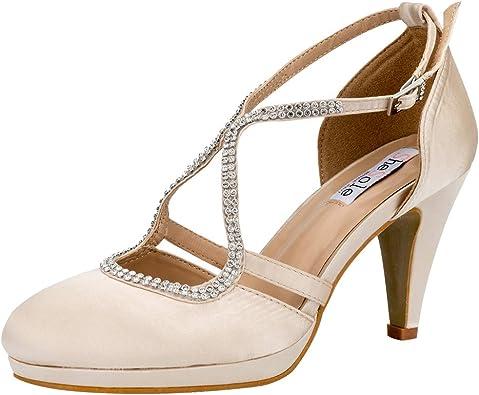 SheSole Women Comfort Low Heels Closed