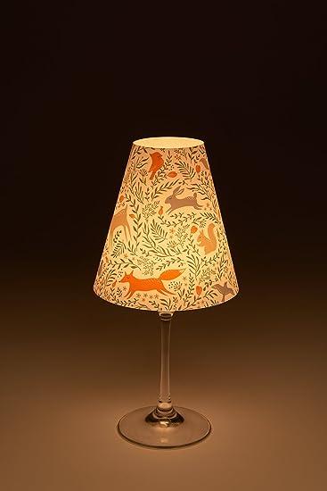 Cuadros Lifestyle Candle Light Lampenschirm Fur Weinglaser Deko