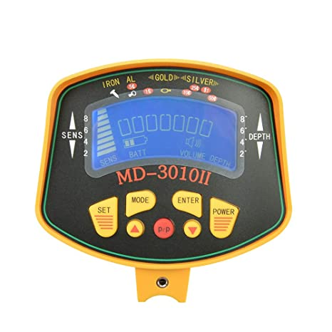 Amazon.com : KingDetector MD-3010II Hobby Upgraded Metal Detectors Gold Digger Metal Detector Fully Automatic with LCD Display Treasure Hunter Gold Detector ...