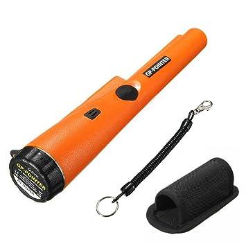 Douleway Pinpunter Detector de metal, pinpuntero portátil, herramienta de caza de tesoro, zumbador