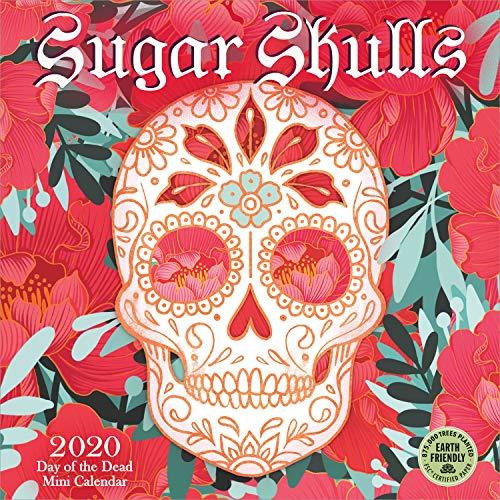 Sugar Skulls 2020 Mini Wall Calendar: Day of the Dead (7