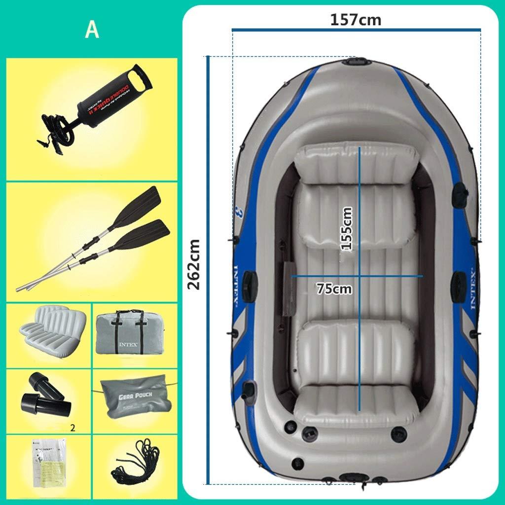 GYL Barco Hinchable Grande con Tres Trucos hinchables para Kayak ...