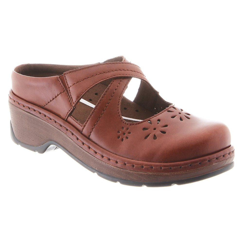 Klogs USA Carolina Casual Clogs Cognac Tintoretto 8 W