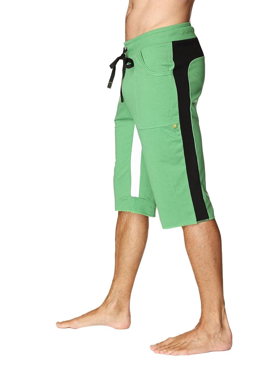 4-rth PANTS ボーイズ B01FVGRCSA L Green W/Black & White Green W/Black & White L