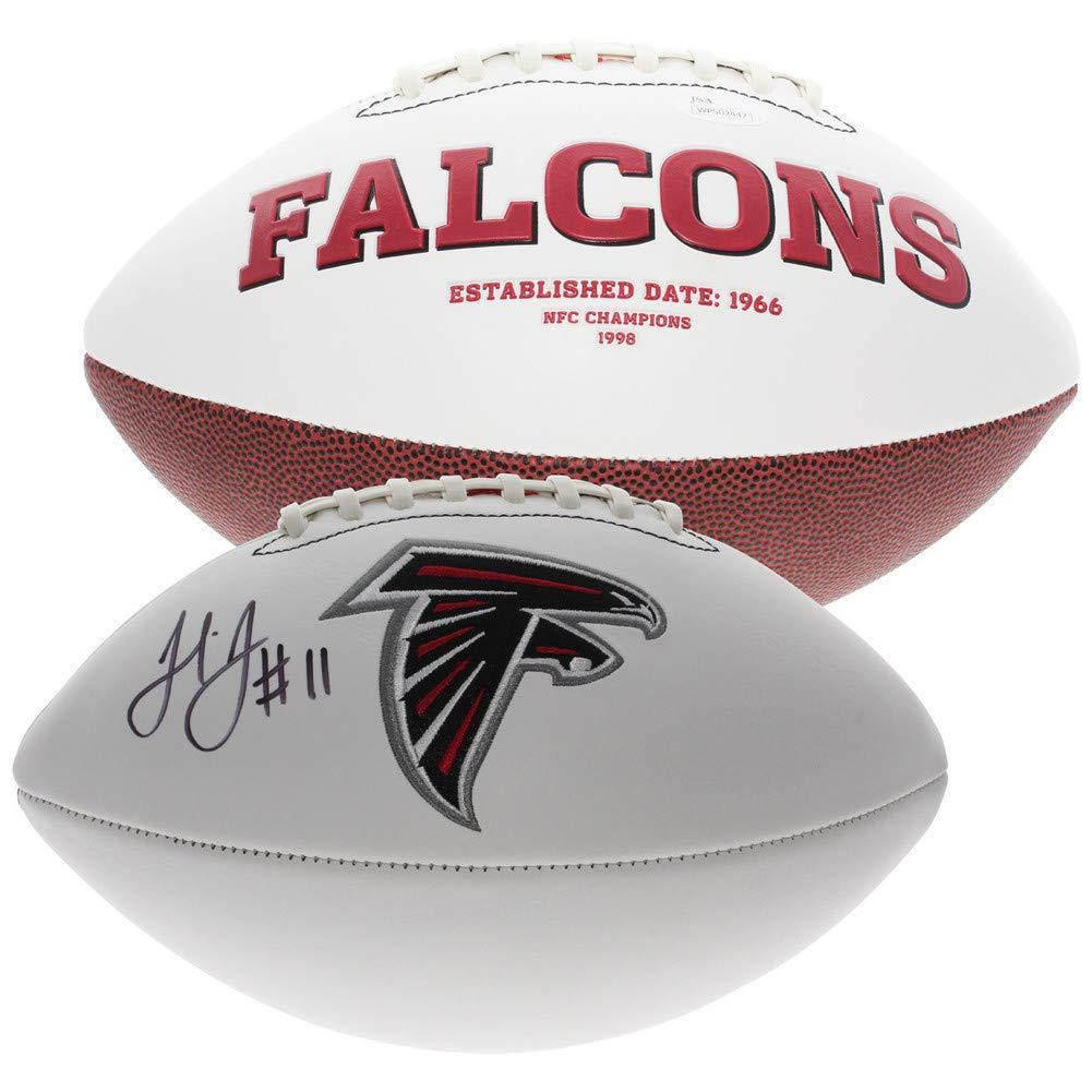 Julio Jones Autographed Signed Atlanta Falcons White Panel Football - JSA Authentic
