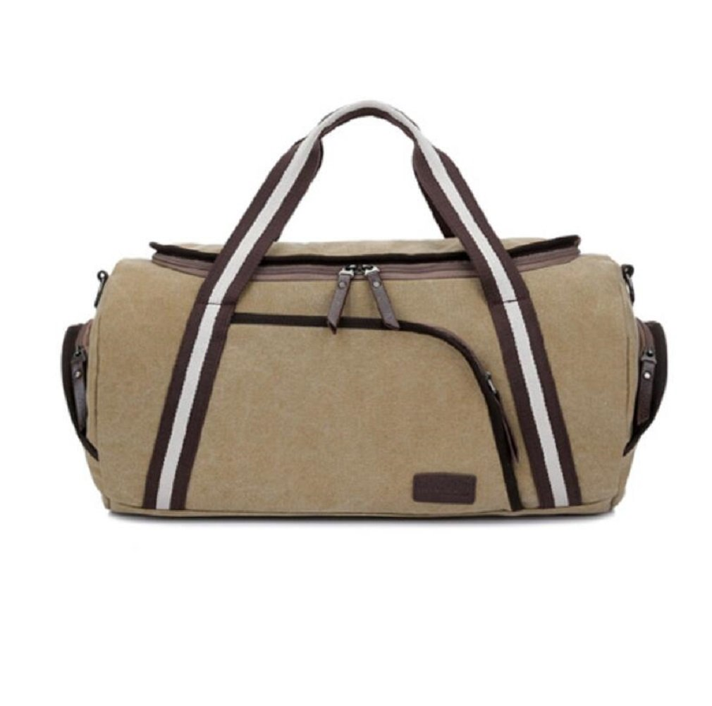 ZC&J Outdoor-Männer und Frauen Universal-Reisetasche, Urlaub Freizeit Reisen Bergsteigen Camping-Tasche, Leinwand Tasche solide Verschleiß Anti-Kratzer Anti-Riss-hochwertige Handtasche