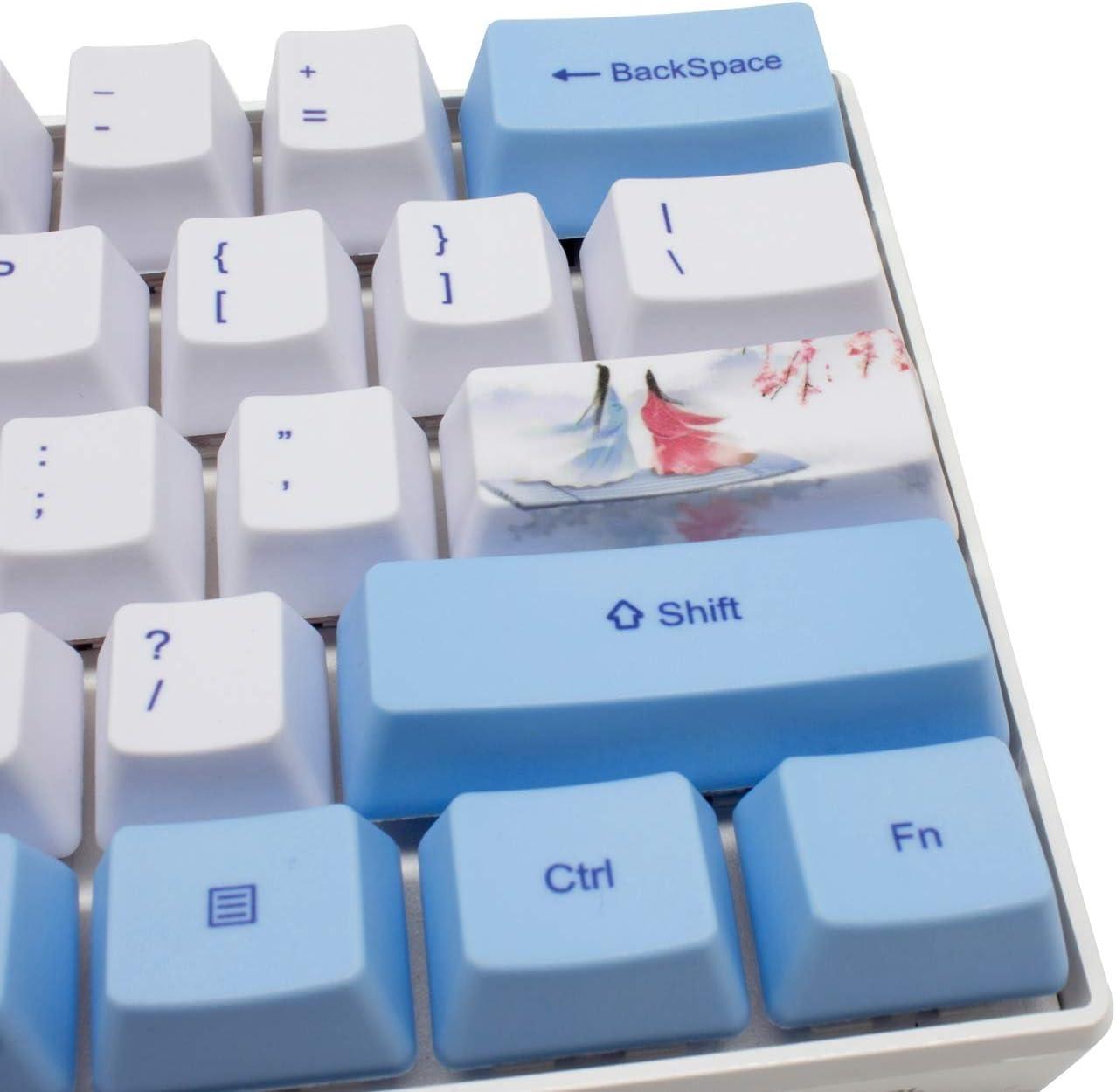 Traditional Singapore Kaya Toast Keycap Mechanical Keyboard PBT Gaming Upgrade Kit