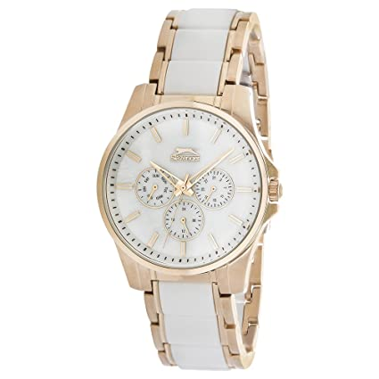 SLAZENGER Womens Analogue Metallic Watch-SL91344402