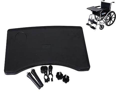 Sedie A Rotelle Leggere : Meylee vassoio per sedie a rotelle estraibile vassoio per sedie a