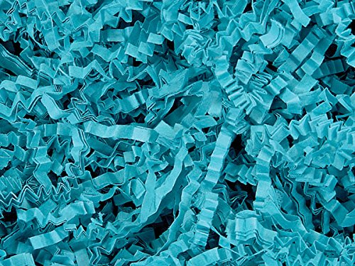 Teal Crinkle Paper Shred by Nas