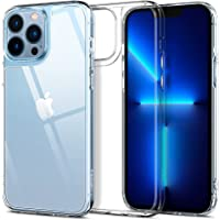 Spigen Compatible for iPhone 13 Pro Max Case Quartz Hybrid - Crystal Clear