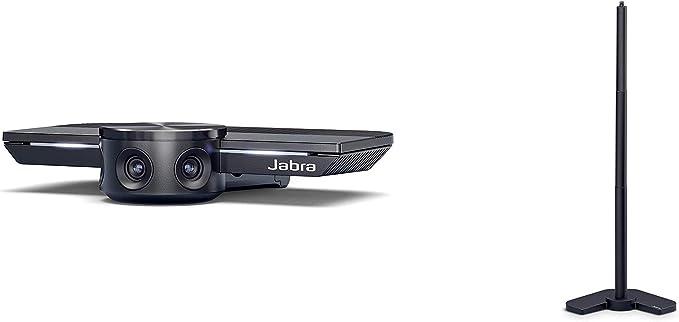 Jabra Panacast Panorama 4k Videokonferenzkamera Plug And Play Videokamera Mit 180 Sichtfeld Panacast Tischhalterung Table Stand Für Konferenzkamera Elektronik