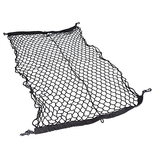 41 x 30 Inches Auto Rear Truck Bed Bungee Cargo Net Tie Down Net for Dodge Ford (Gmc Cargo Trucks)