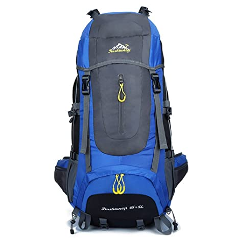 4ce575bc6c6a Fengtu 70L High Capacity Backpack Water-Resistant Hiking Backpacking  Trekking Bag for Outdoor Climbing Camping