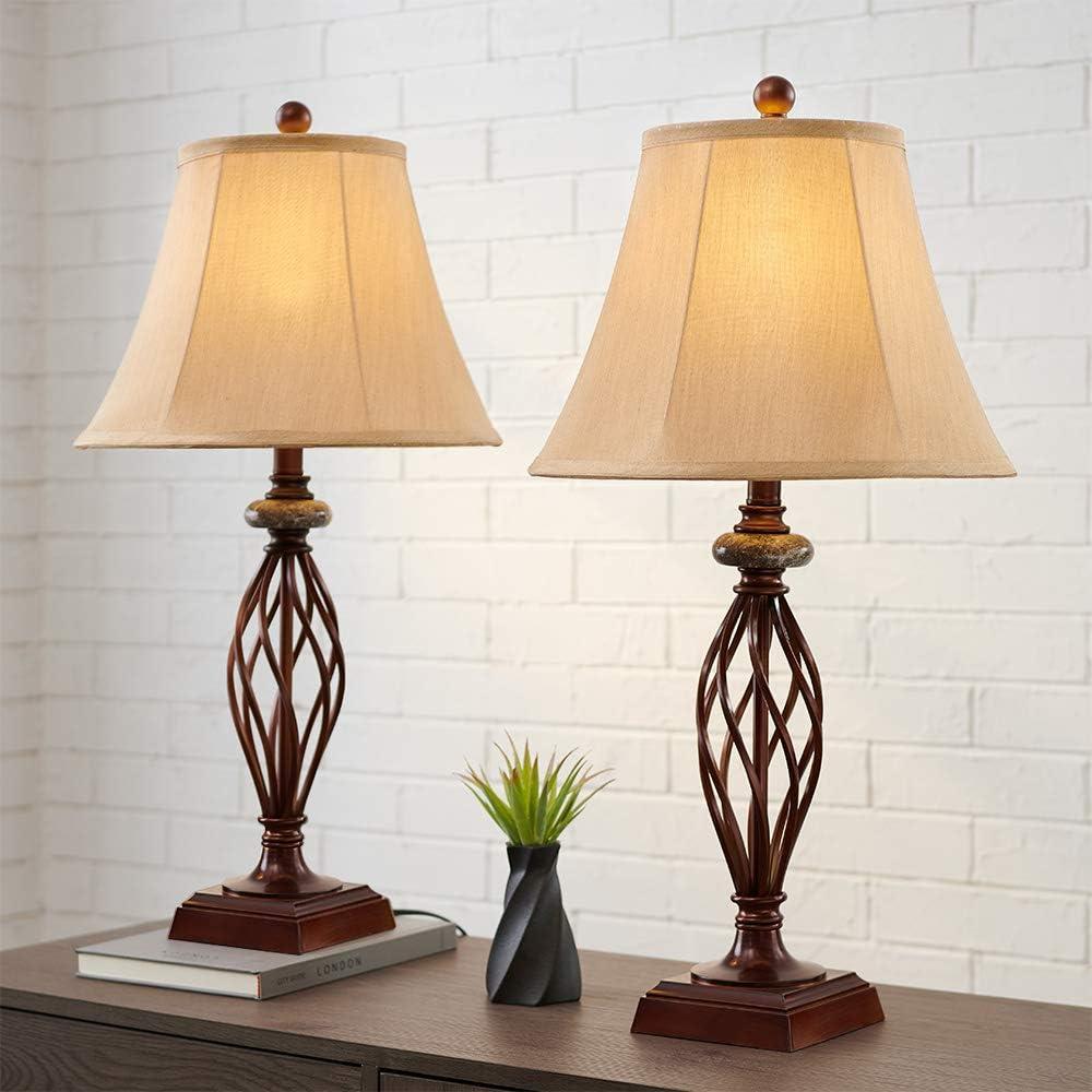 Lucky Bronze Brass Dragon Fireball Table Lamp Finial 2.5