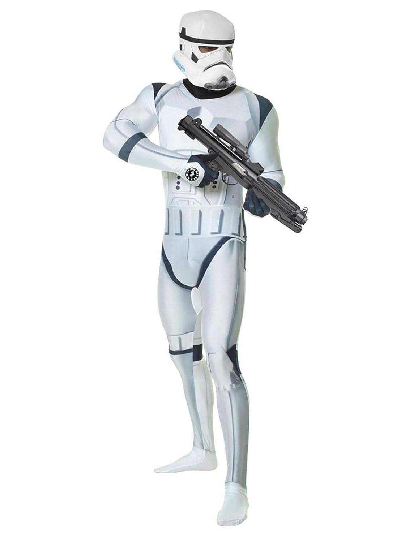 KULTFAKTOR GmbH Star Wars Stormtrooper Digital Morphsuit Lizenzware Weiss-schwarz L (bis zu 1,80 m) B015UVPATY Kostüme für Erwachsene Spielen Sie Leidenschaft, spielen Sie die Ernte, spielen Sie die Welt  | Exzellente Verarbeitung