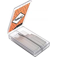 10 Magnets for Men Shirts 4 Various Sizes In Clear Box 40 Metal Collar Stays