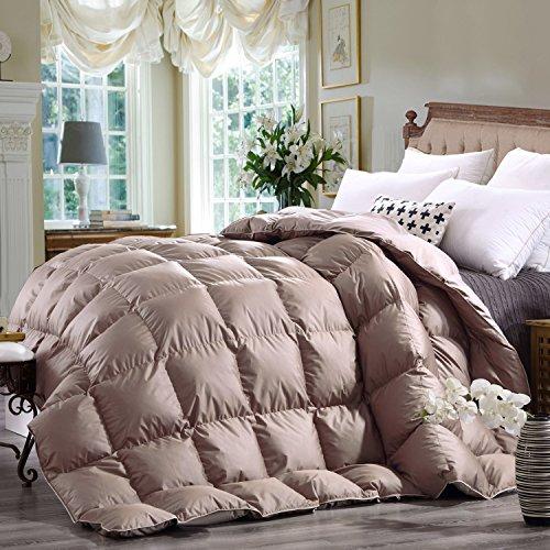 Summer Snowman (Queen Duvet Insert Khaki 600TC 800FP 100% Egyptian Cotton Cover White Goose Down Comforters Duvet White Down Comforter Lightweight All Season (Queen(9090), Khaki))
