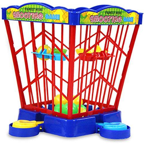 Remeehi 知育玩具 バスケットボールゲーム 卓上ゲーム ミニデスクトップ バスケットボールシュート パチンコゲーム 親子インタラクティブ 玩具 おもちゃ キッズ 子供 トレーニング 4#