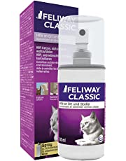 FELIWAY Classic 60ml Spray, comforts cats and helps solve behavioural issues in the home and on the move - 60ml