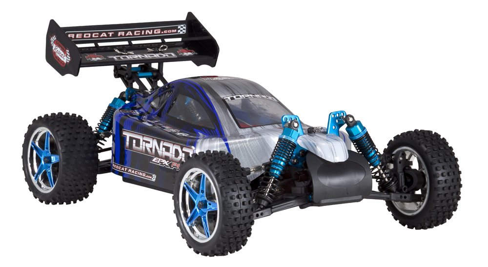 Blue//Silver TORNADOEPPRO-94107PRO-BS 1//10 Scale Redcat Racing Brushless Electric Tornado EPX PRO Buggy with 2.4GHz Radio Vehicle Battery /& Charger Included