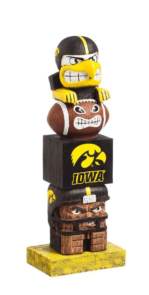 Amazon.com: NCAA Iowa Hawkeyes Tiki Totem: Sports & Outdoors