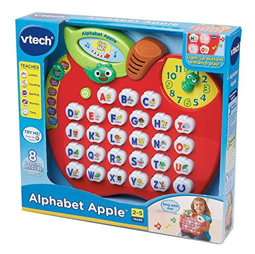 618hnLR pZL - VTech Alphabet Apple (Frustration Free Packaging)