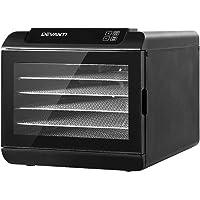 DEVANTi Food Dehydrators Commercial 304 Stainless Steel Beef Jerky Maker Fruit Dryer with 6/9/10 Trays