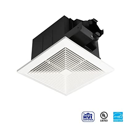 Ultra Quiet Ventilation Fan Bathroom Exhaust Fan (75,110CFM/1.0Sone)