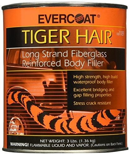 Evercoat Fibreglass 1189 Tiger Hair Long Strand Fiber Reinforced Filler - Quart