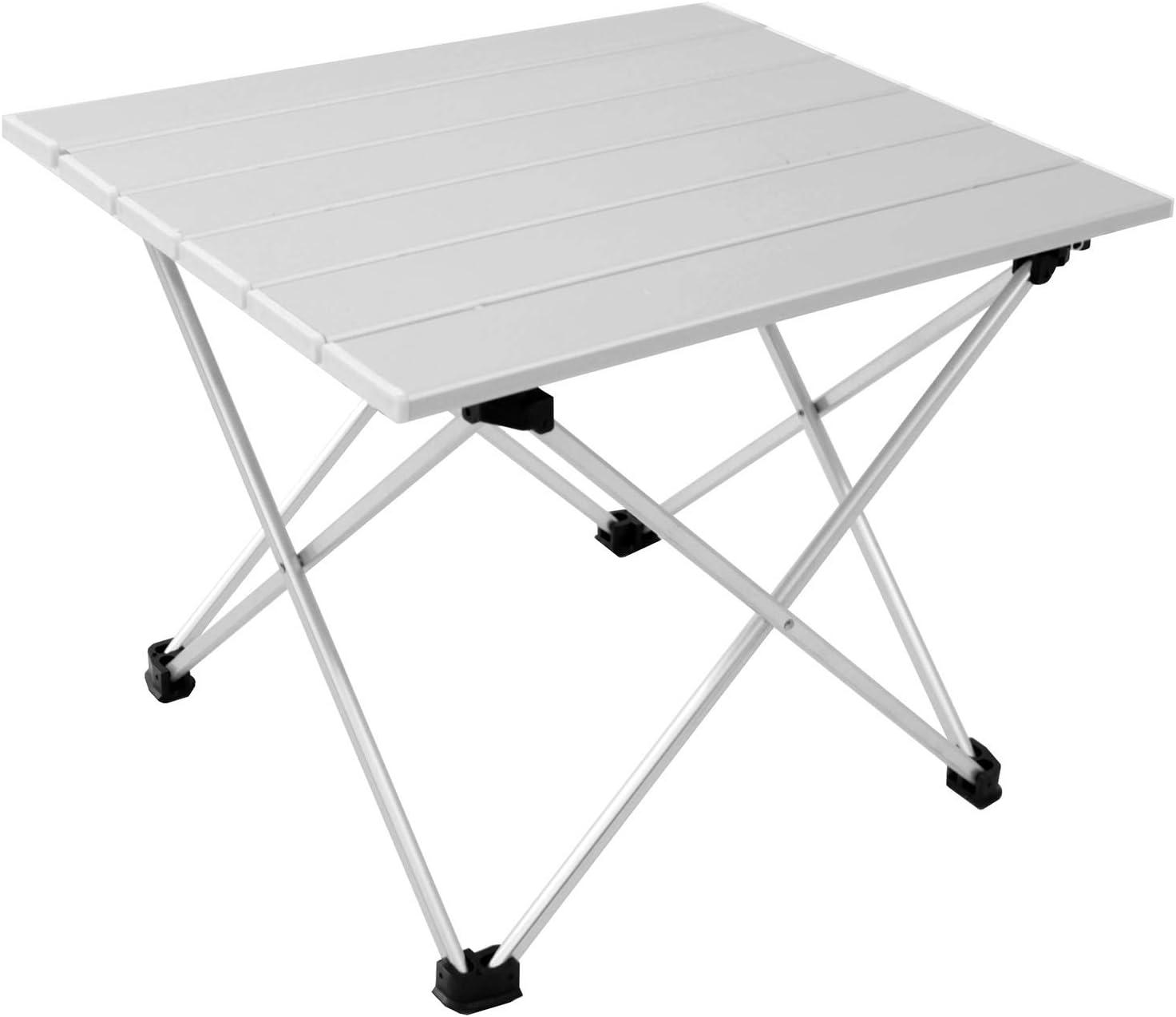 Mesa de camping de aluminio Kamperland mesa plegable 40x34cm H32cm