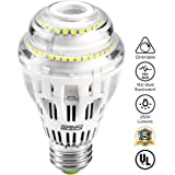 17W (150 Watt Equivalent) A19 Dimmable LED Light Bulb, 2500 Lumens Bright LED, 5000K Daylight Light, 270° Omni-directional, CRI 80+, E26 Medium Base, UL Listed, SANSI