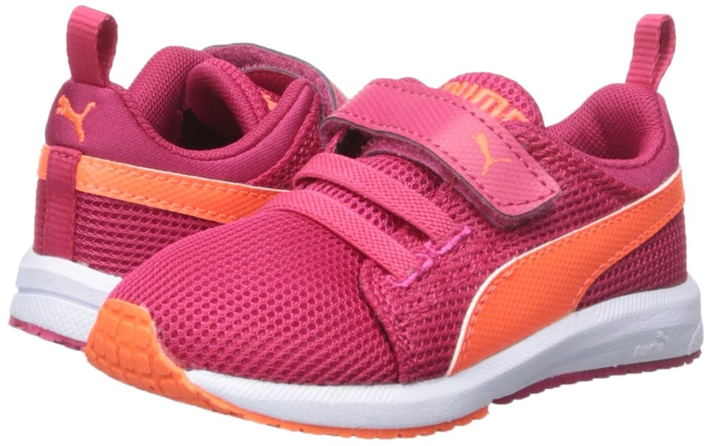 Amazon.com | PUMA Carson Runner V Kids Sneaker (Toddler/Little Kid/Big Kid),  Rose Red/Fluorescent Peach, 10 M US Toddler | Walking
