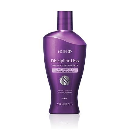 Amend Discipline Liss - Champú con Keratina, sin Sal - 250 ml