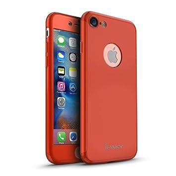 Funda iPhone 7 Case Frontal y Trasera Ultra-Delgada + Regalo Gratis Cristal Templado, Nifogo® &ipaky 360 °Protección Completa Case, Cover, Carcasa, ...