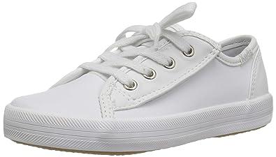 76bec0af61cb88 Keds Kickstart Core Jr. Sneaker Little Kid 8.5 White Leather