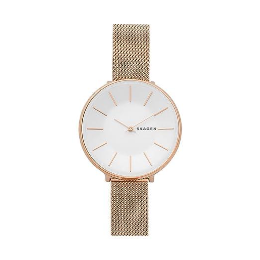 Skagen Reloj Analogico para Mujer de Cuarzo con Correa en Acero Inoxidable SKW2688: Amazon.es: Relojes