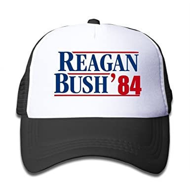 2d1f4489e50d2 Amazon.com  Reagan Bush 84 Mesh Kids Snapback Cap Hat  Clothing