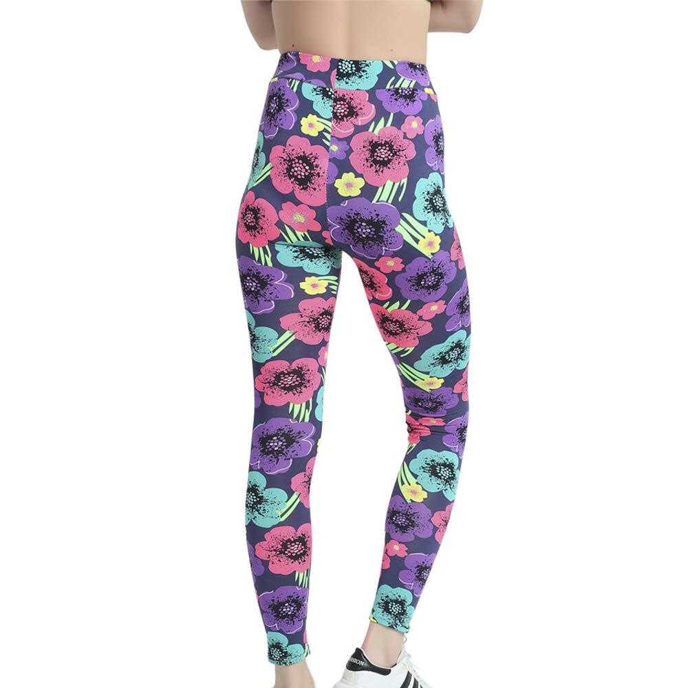 LiPa Tova Womens Leggings Soft Stretchy Ankle Length Yoga Pants (U-XL)