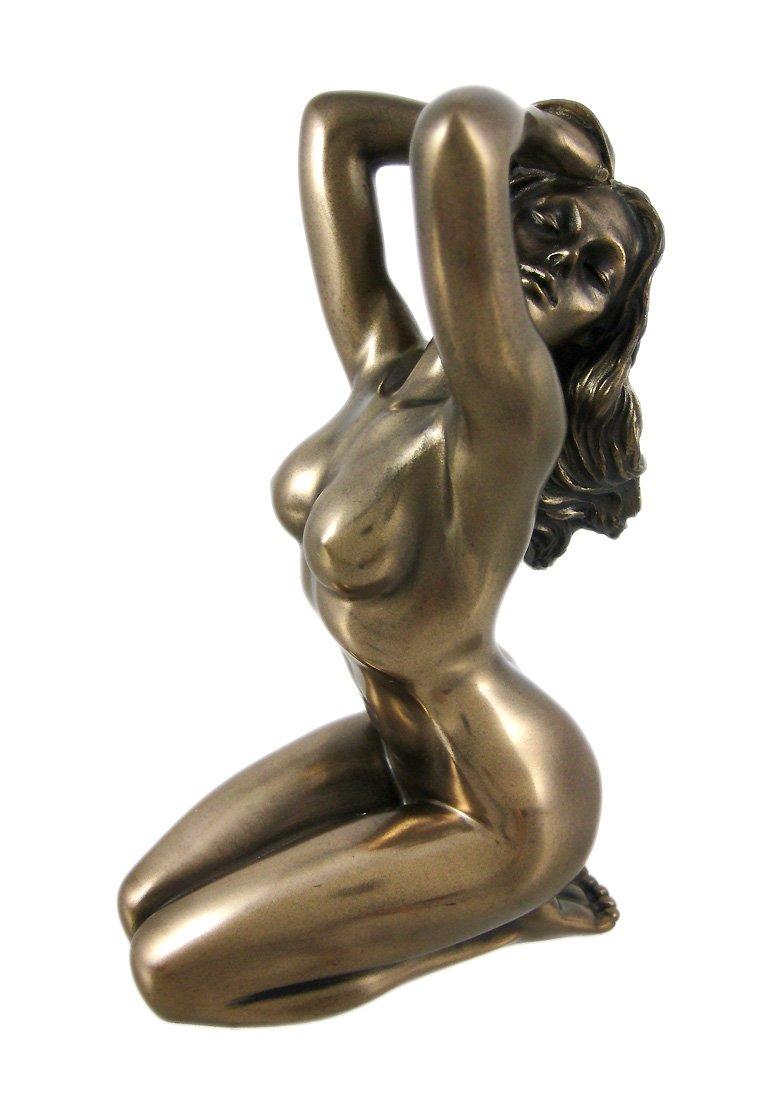 Nude With Shawl Woman Figurine