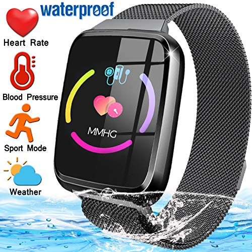 Fitness Tracker for Men Women with Blood Pressure Heart Rate Monitor 1.3