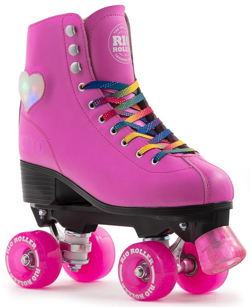 Rio Roller Figure Lights Quad Skate Chld Patines Hombre