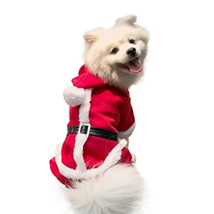 Enjoying Doggy Christmas Coat Puppy Cat Dog Christmas Costume with 4 Legs  Hoodie - Extra large - Amazon.com : Enjoying Doggy Christmas Coat Puppy Cat Dog Christmas