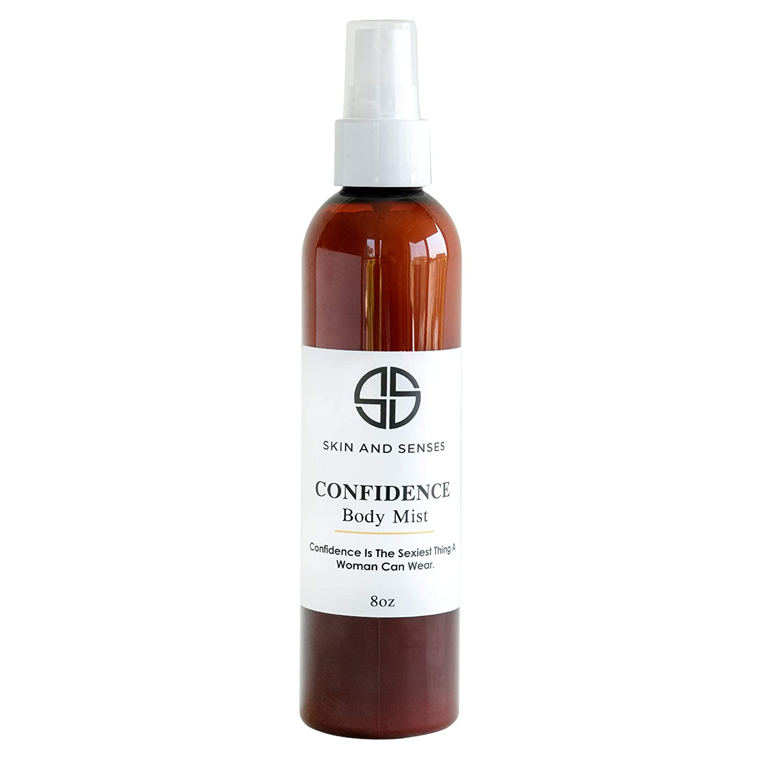 Confidence Body Mist - By Skin And Senses Ultra Hydrating and Effective Skin-Enhancing | Phthalate-Free Fragrance - Luminous Scent