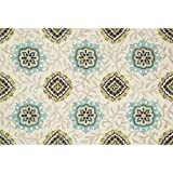 Loloi Rugs,  TAYLOR COLLECTION,  TAYLHTY14IVSP7AB0,  IVORY / SPA  7'-10''  x  11'