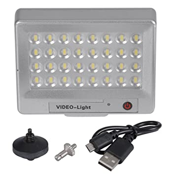 eb97464f7016 Neewer S60 Video Light Ultra-thin Mini LED Flash Light with 32pcs LED Lamp  Beads