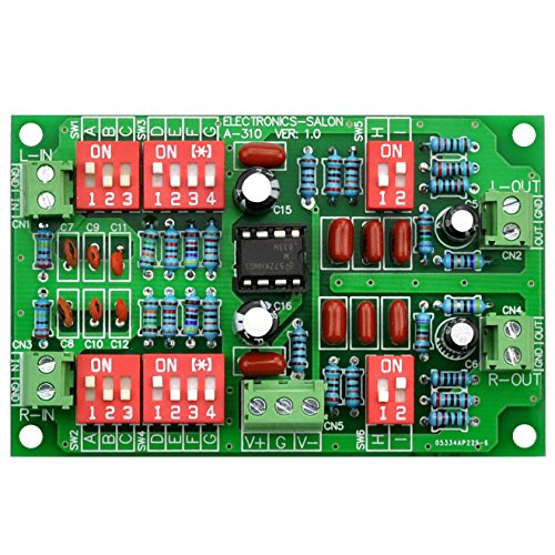 Electronics-Salon Stereo Phono RIAA Preamplifier Module Board, Preamp, MD-A310. by Electronics-Salon